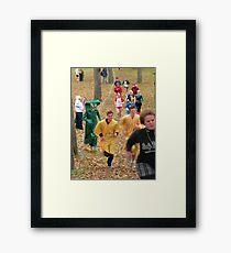 it's Gumby, dammit! Framed Print