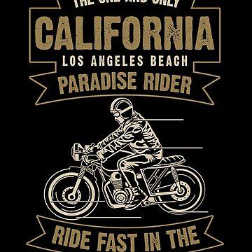 California Paradise Rider by JakeRhodes