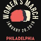 Women's March 2019 Philadelphia by oddduckshirts