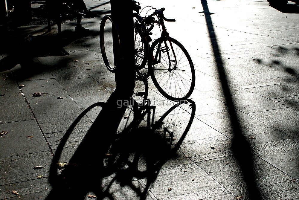 Shadow Play, Circular Quay by gail anderson