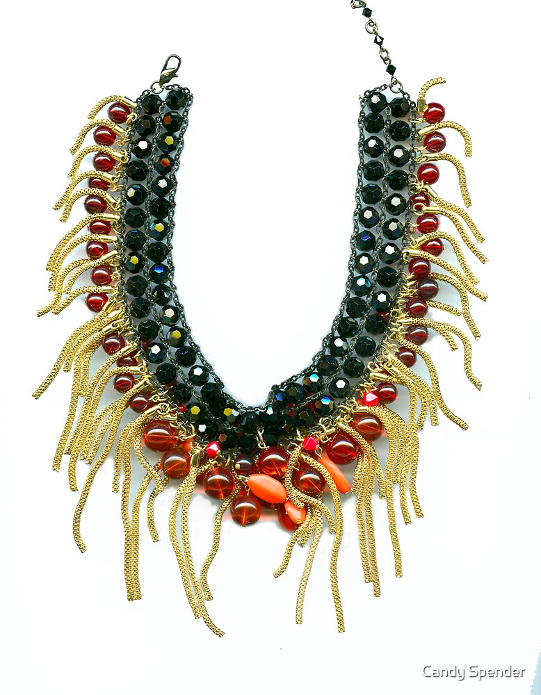 Kali_Shakti Necklace by Candy Spender