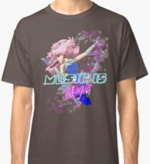 Camiseta clásica La musica es magia