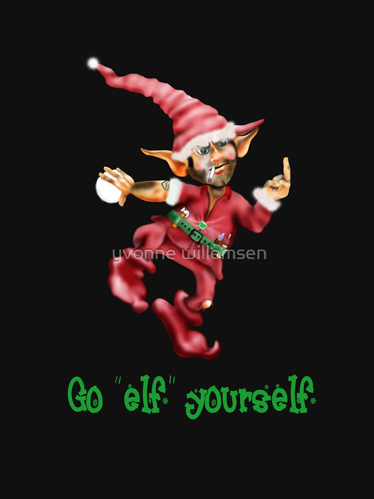 """Go """"elf"""" yourself by ywill"""