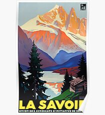 Vintage Travel Poster France - La Savoie Poster