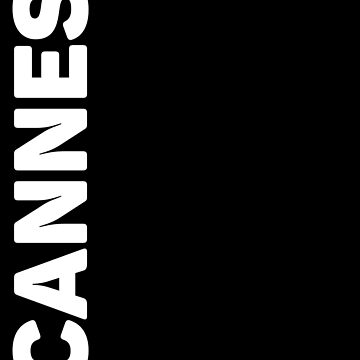 Cannes T-Shirt by designkitsch