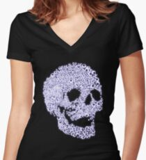 LavenDeath Women's Fitted V-Neck T-Shirt