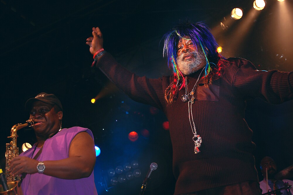 George Clinton at VooDoo Fest '09 by Brandon Myles Osman