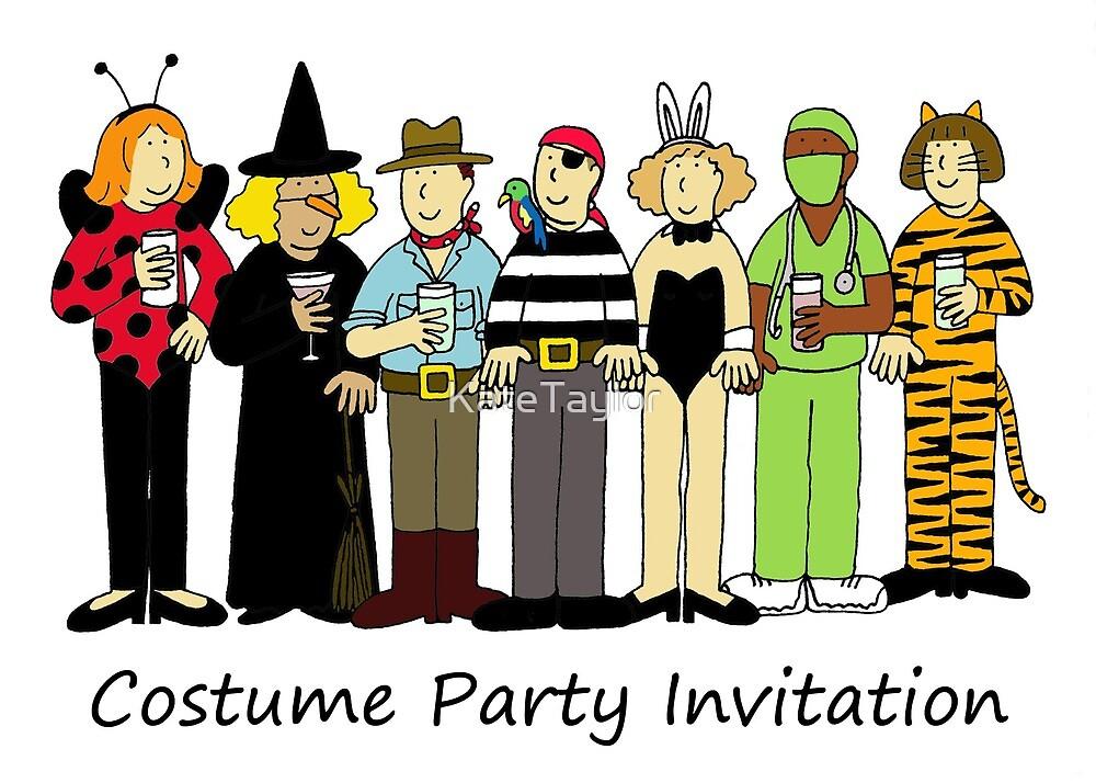 costume fancy dress party invitation by katetaylor redbubble