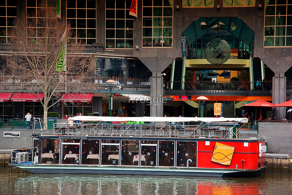 Southgate floating restaurant by Froggie
