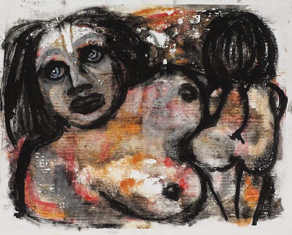mother and child by bernard lacoque