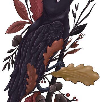 Autumn Raven  by SamanthaSawyer