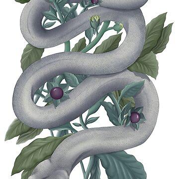 Belladonna snake by SamanthaSawyer