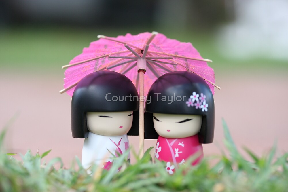 China doll friends #2 by Courtney Taylor