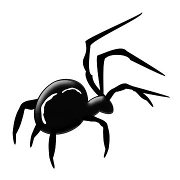 Black Spider Design by biglnet