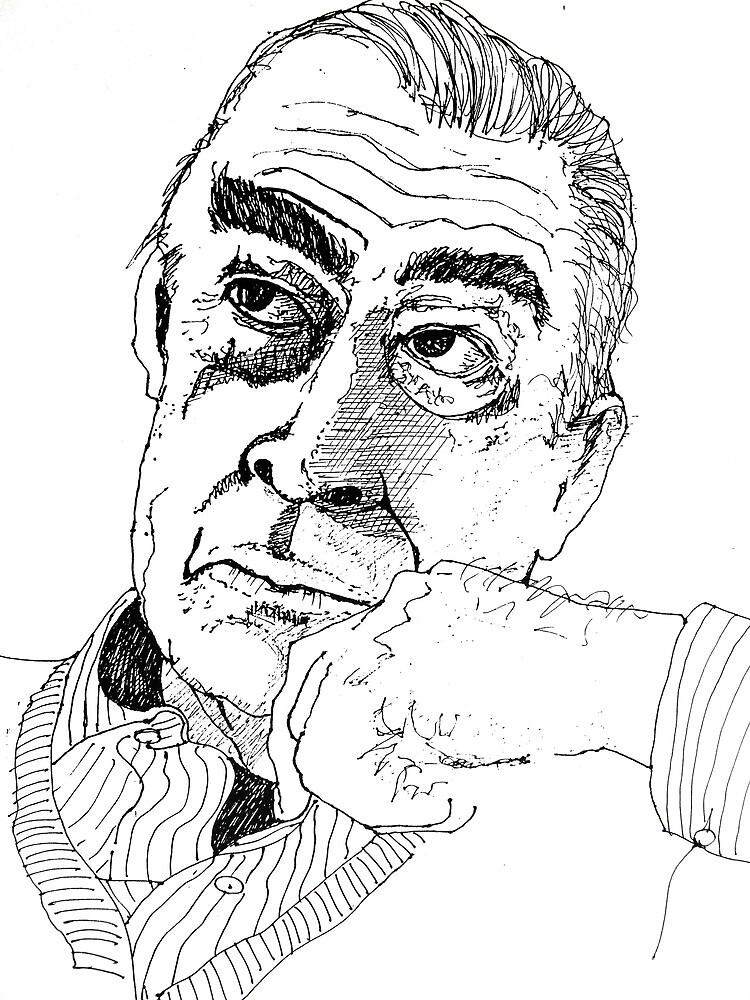 Portrait Study 23. by Richard  Tuvey