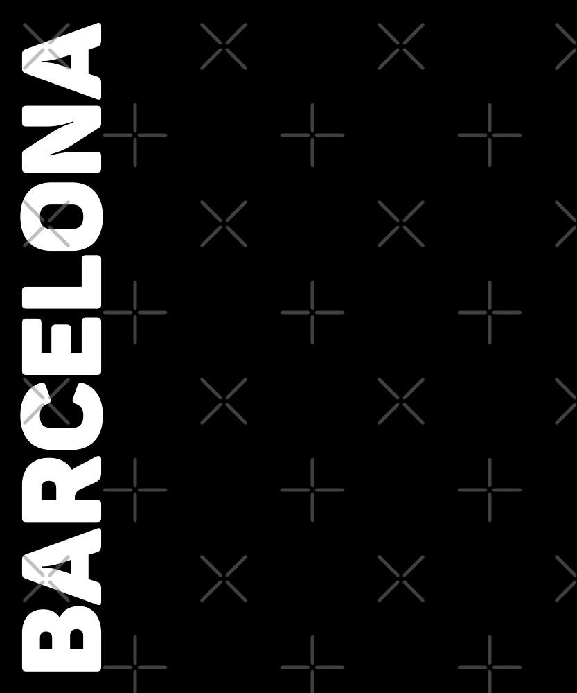 Barcelona T-Shirt by designkitsch