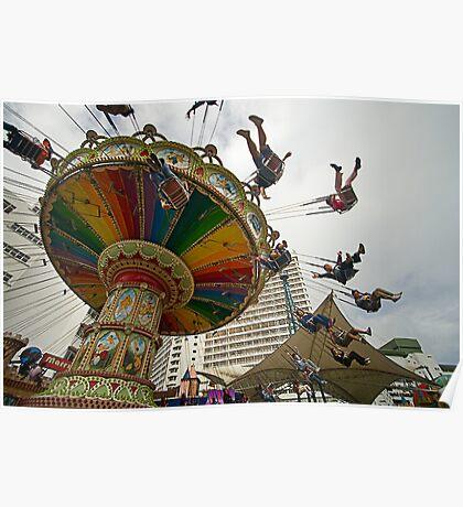 Spinning Fun Poster