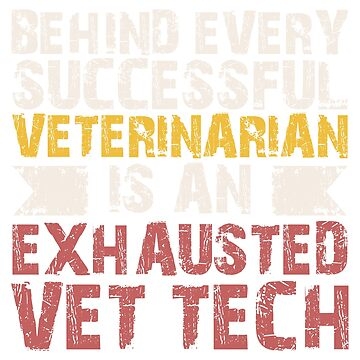 Funny Vet Tech Gift Veterinarian Assistant Christmas Gifts by noirty