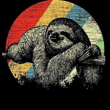 Sloth tropics by GeschenkIdee