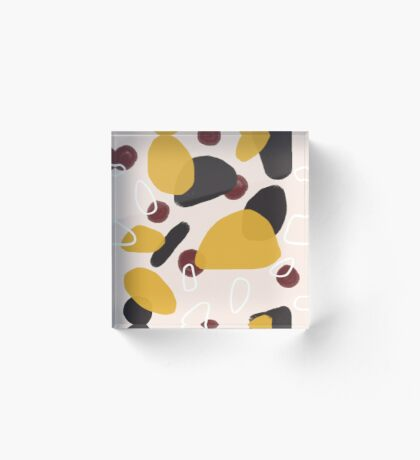 Abstract Fall I #redbubble #abstractart Acrylic Block