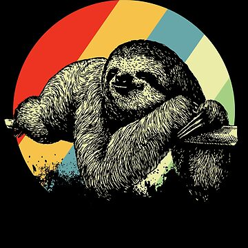 sloth by GeschenkIdee