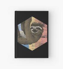 Sloth animal relatives Hardcover Journal