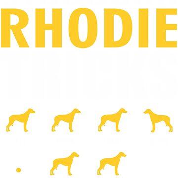 Stubborn Rhodesian Ridgeback Dog Tricks T shirt Perfect Gift For Rhodesian Ridgeback Pet Lovers by funnyguy