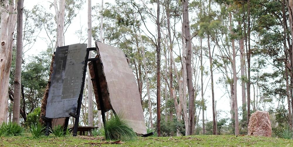 Sykes Sanctuary (Railton - n.w. Tasmania, Australia) by Gaylene Norton