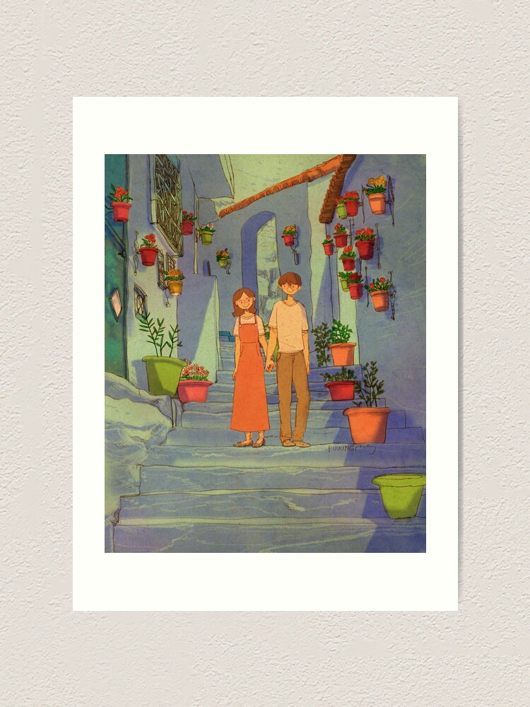 Alternate view of  Chefchaouen, Morocco Art Print