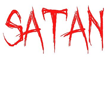 Satan Is A Punk Funny Christian T-Shirt by noirty