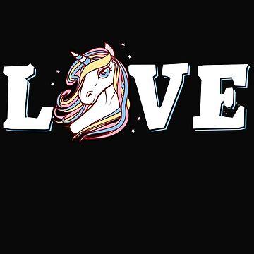Love & Unicorn by dtino