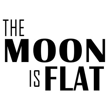 The Moon is Flat by DaliusD