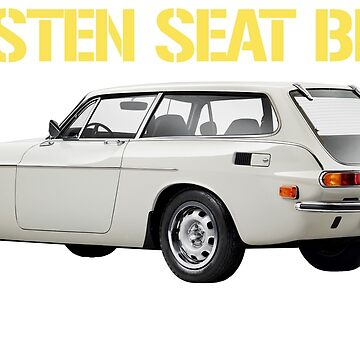 VOLVO 1800 ES (WHITE TEXT) by ThrowbackMotors