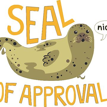 seal of approval by ekajuyu