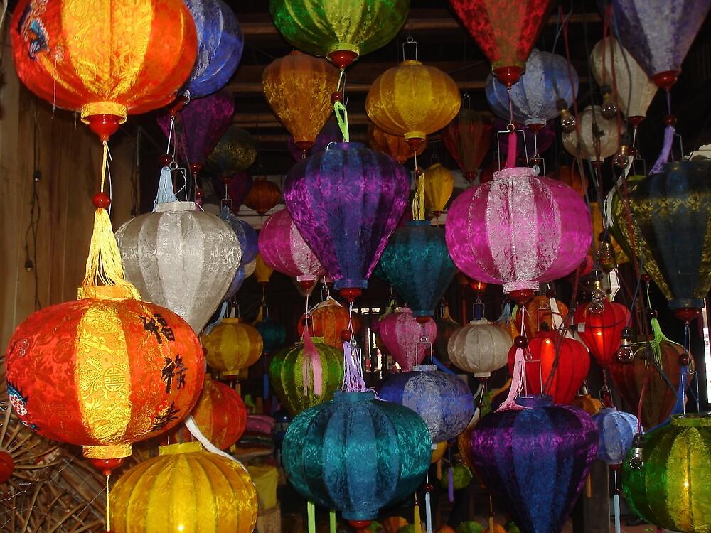 Kaleidoscope of Lanterns in Hoi Ann Vietnam by BRIGHTEY84