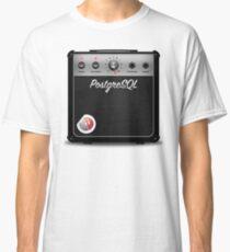 PostgreSQL 11 Amplifier with credativ logo Classic T-Shirt