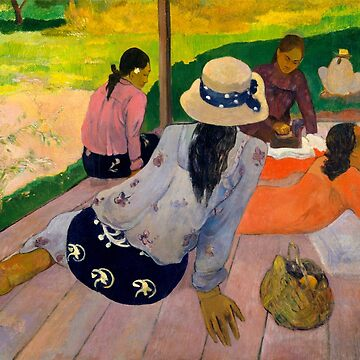 "Paul Gauguin ""The Siesta"" by ALD1"