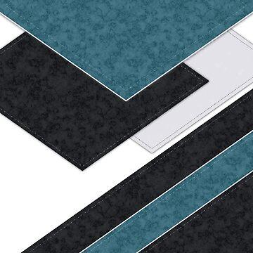 Black blue patchwork by fuzzyfox