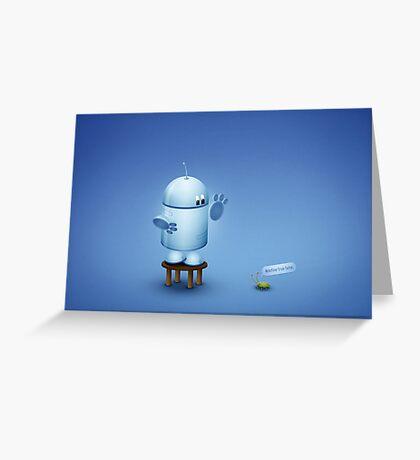 A bug  Greeting Card