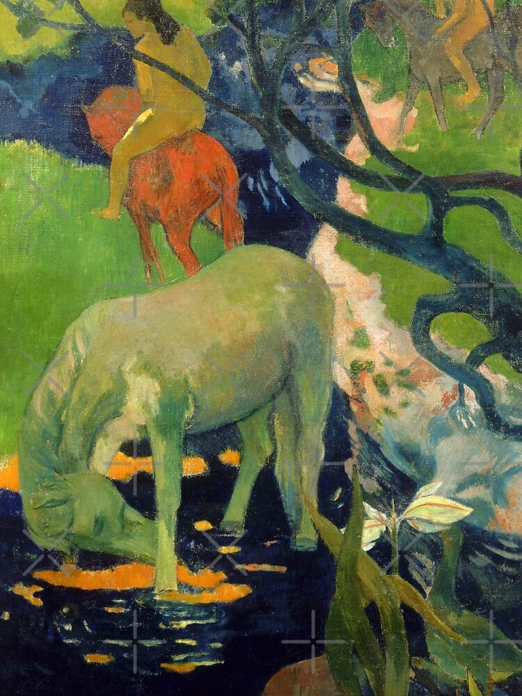 """Paul Gauguin """"The White Horse"""" by ALD1"""