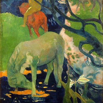 "Paul Gauguin ""The White Horse"" by ALD1"