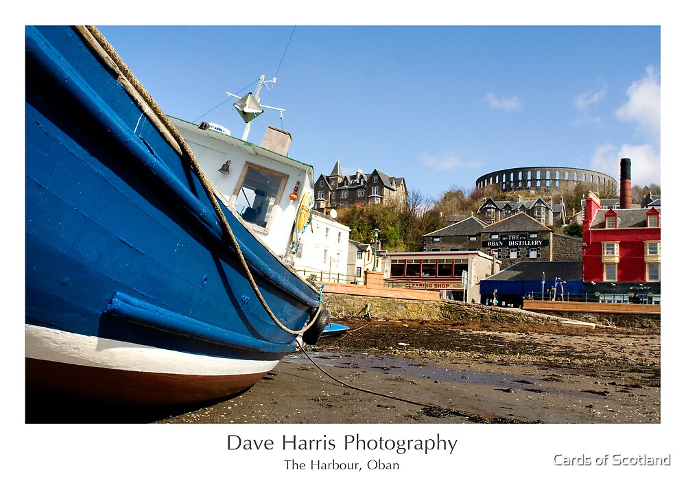 The Harbour, Oban by Cards of Scotland