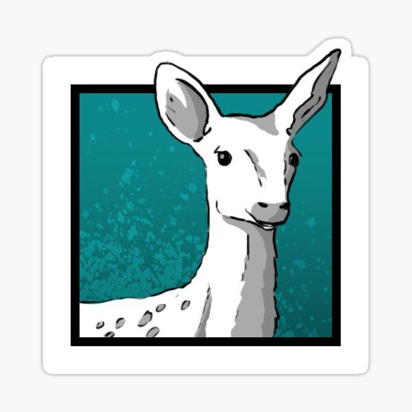 Icône Biche Sticker