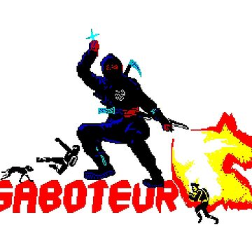 Gaming [ZX Spectrum] - Saboteur by ccorkin