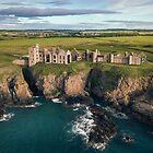 Slains Castle by David Bowman