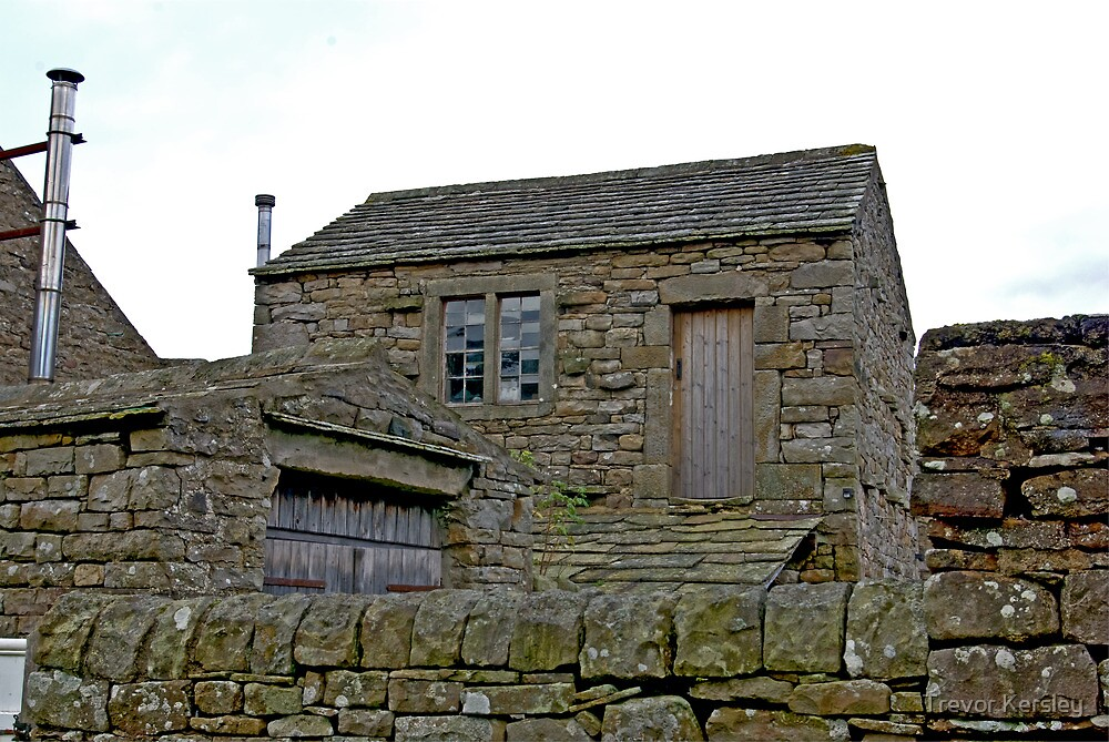 Stone Shed by Trevor Kersley