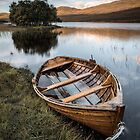 Moored on Loch Awe by David Bowman