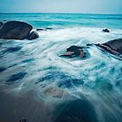 Study of the Movement of Water - Sennen by Mark Haynes Photography