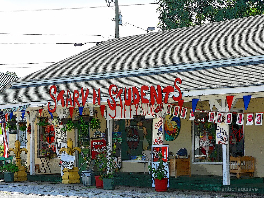 """""""The Starv N Students Store"""" by franticflagwave"""