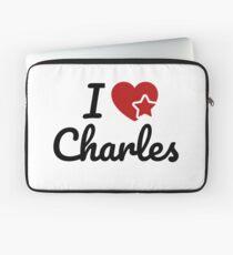I love Charles Artwork Laptop Sleeve
